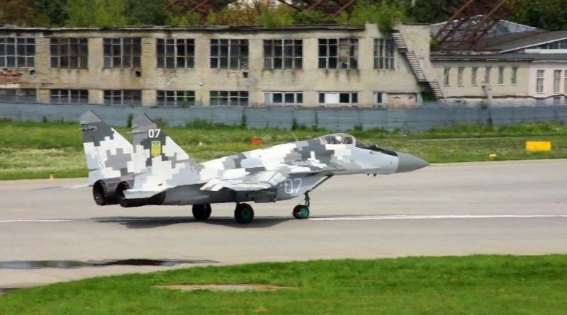 Українські військові отримали два модернізовані винищувачі МіГ-29МУ1 (відео)