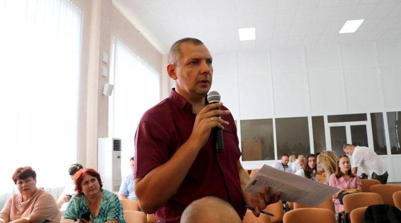 Прес-конференція, присвячена першим підсумкам діяльності Об'єднаних сил на Донбасі (фото)