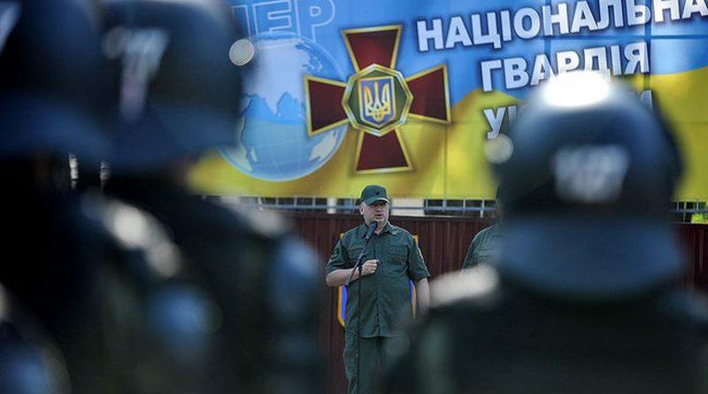 Олександр Турчинов взяв участь у проведенні тактичних навчань підрозділів Нацгвардії України (фото)