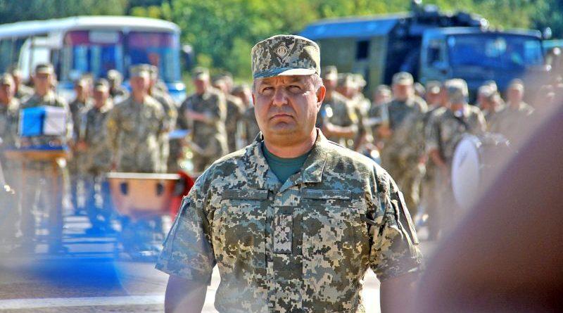 Міністр оборони перевірив підготовку особового складу до параду з нагоди Дня Незалежності (фото, відео)