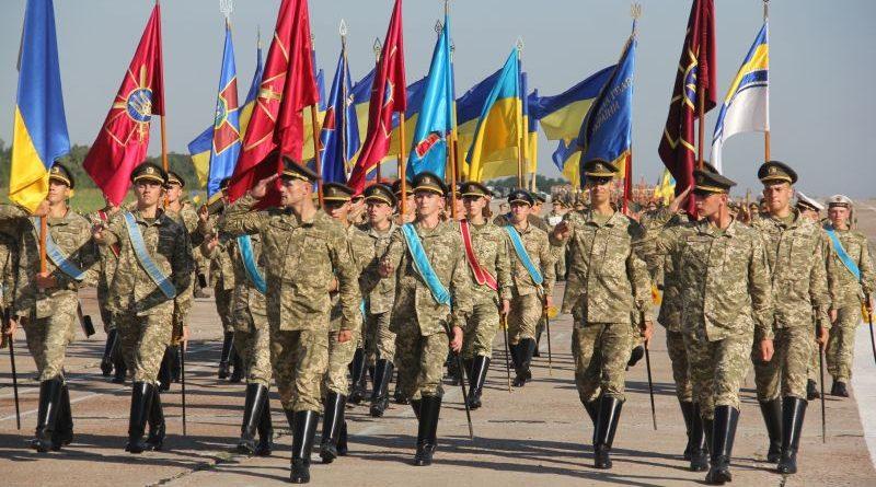 Відбулася перша репетиція парадних розрахунків до параду до Дня Незалежності України (фото/відео репортаж)
