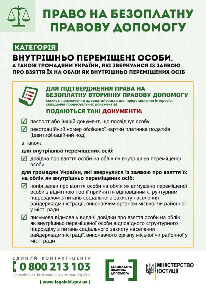 З 29 серпня набрали чинності конкретизовані умови надання безоплатної правової допомоги