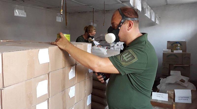 Спецкомісія Міноборони перевіряє продовольчі склади з продуктами харчування від ТОВ «УКРПРОДАКОРД ОР» (фото)