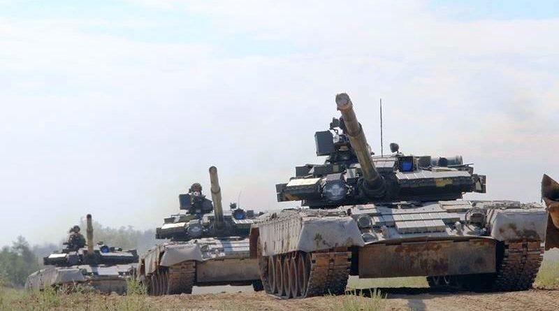 Завершились змагання на кращий танковий взвод серед бригад Десантно-штурмових військ ЗСУ (фото)