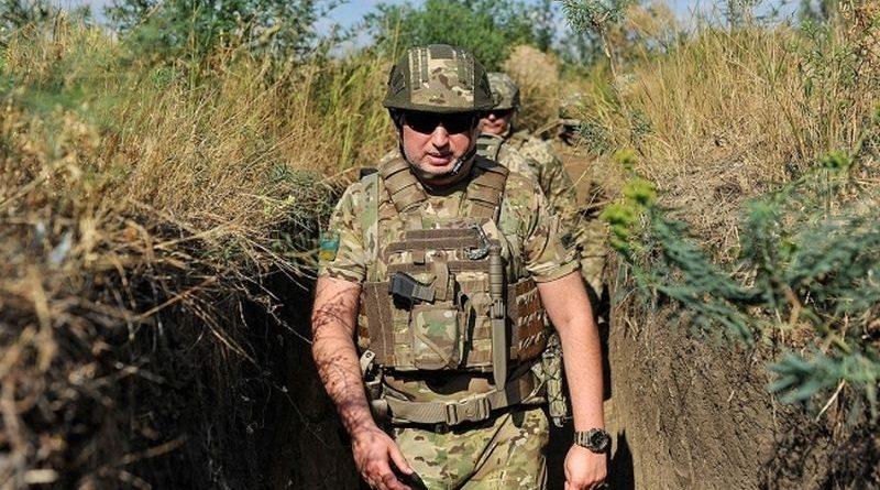 Олександр Турчинов перевірив організацію берегової оборони та захисту узбережжя Азовського моря (фото, відео)