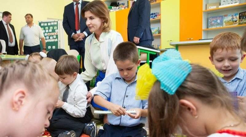 Марина Порошенко взяла участь у відкритті Бориспільського інклюзивно-ресурсного центру (фото)