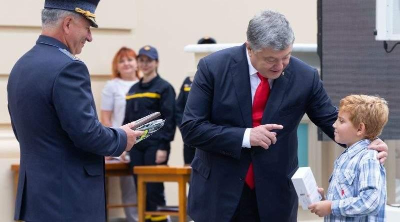 Президент взяв участь в урочистостях з нагоди Дня рятувальника України (фото, відео)