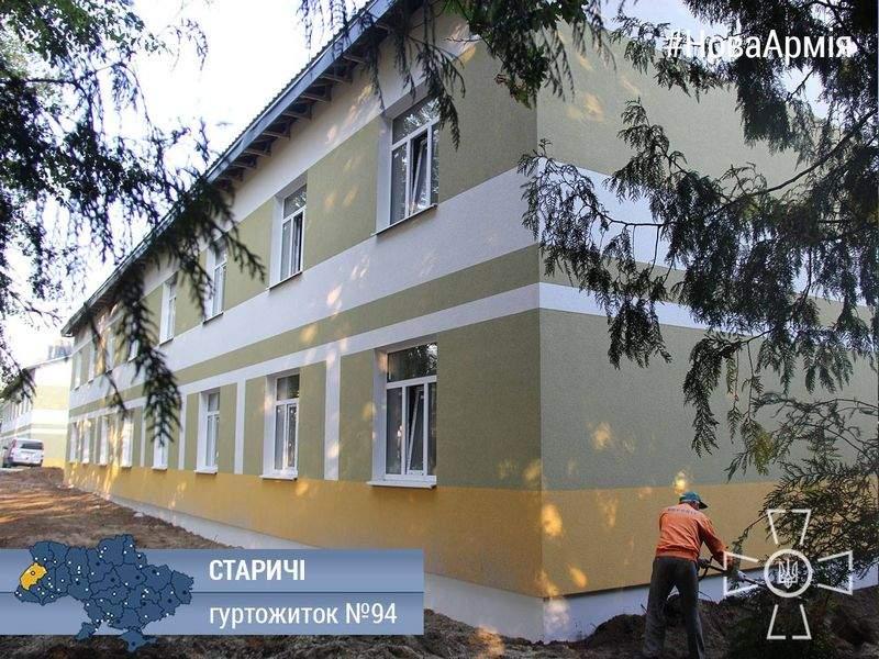 За счет возвращенных средств в Украине строят 184 общежития для 23 тыс. военных, - Порошенко - Цензор.НЕТ 1958
