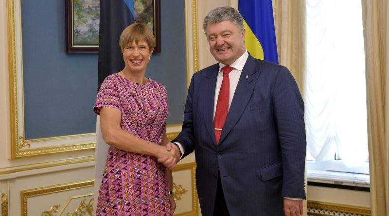 Президент України провів переговори з Президентом Естонської Республіки (фото)