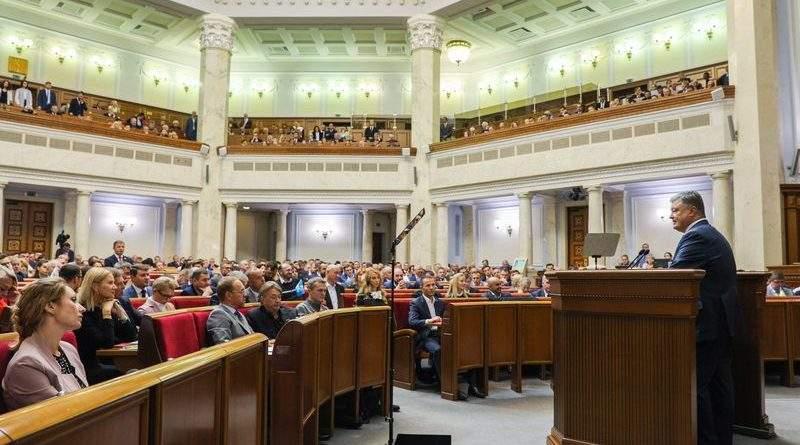 Послання Президента України до Верховної Ради України «Про внутрішнє та зовнішнє становище України в 2018 році»
