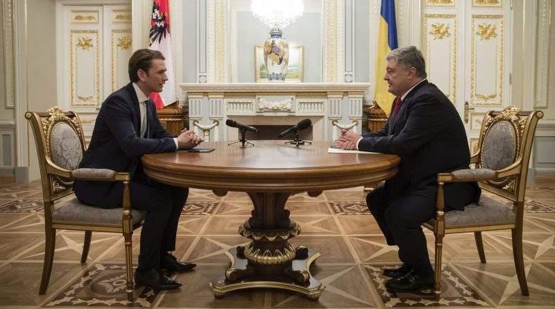Відбулись переговори Президента України з Федеральним канцлером Республіки Австрія (фото, відео)