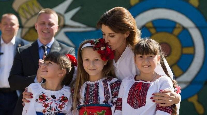 Марина Порошенко відвідала Донецьку область із робочою поїздкою (фото)