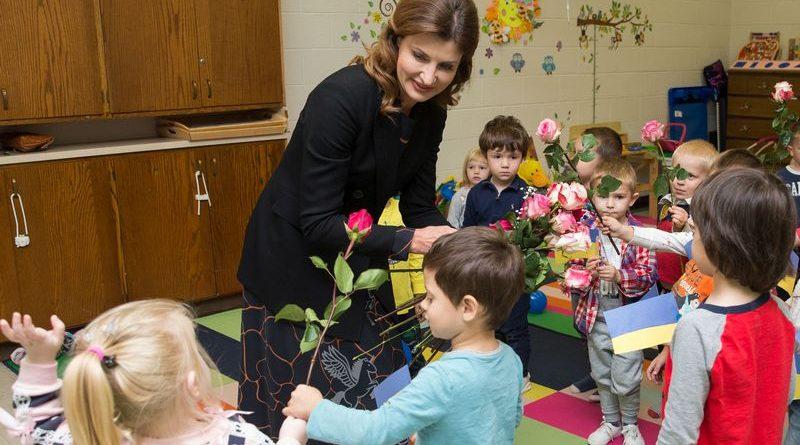 Зустрічі Марини Порошенко під час робочого візиту Президента України до США (фото, відео) (оновлюється)