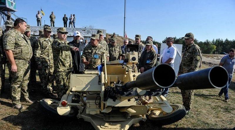 Відбулися випробування нової високоефективної української зброї та військової техніки (фото, відео)