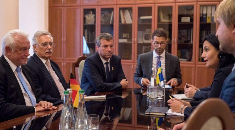Іванна Климпуш-Цинцадзе попросила керівництво Бундестагу сприяти звільненню українських бранців Кремля