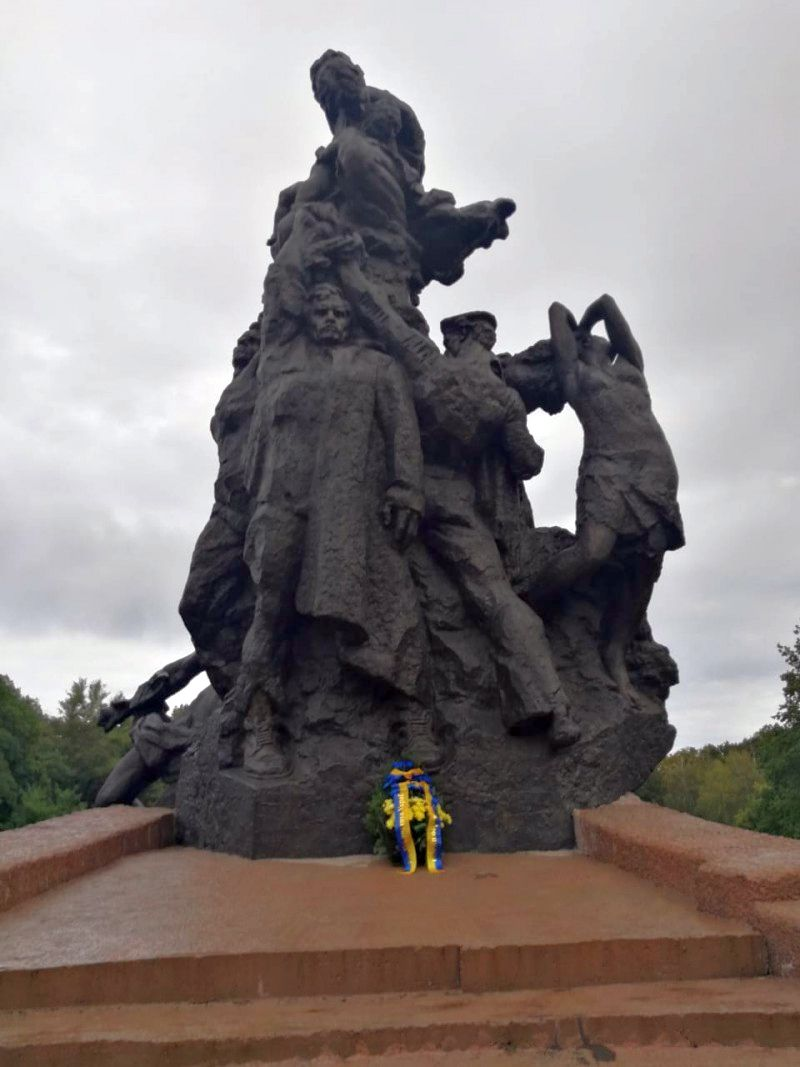 Звернення Президента до Українського народу у зв'язку з роковинами трагедії Бабиного Яру (фото)
