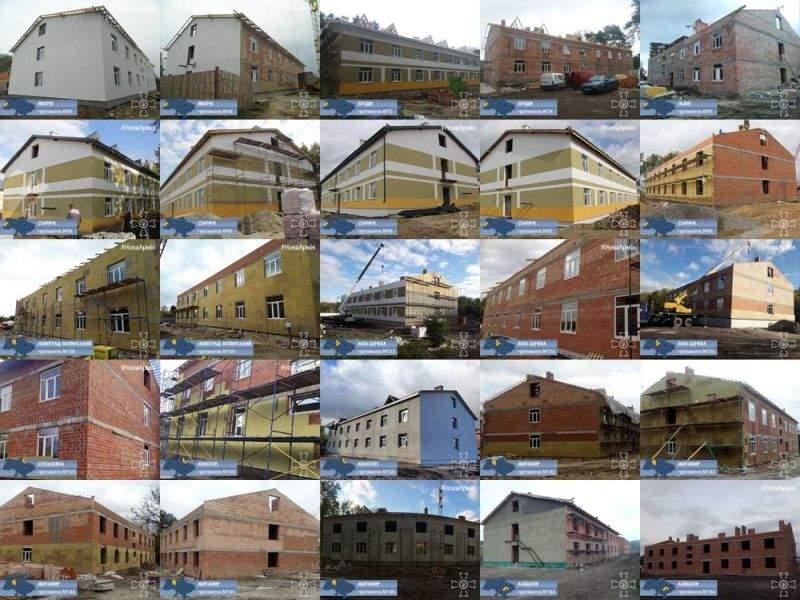 За счет возвращенных средств в Украине строят 184 общежития для 23 тыс. военных, - Порошенко - Цензор.НЕТ 9353