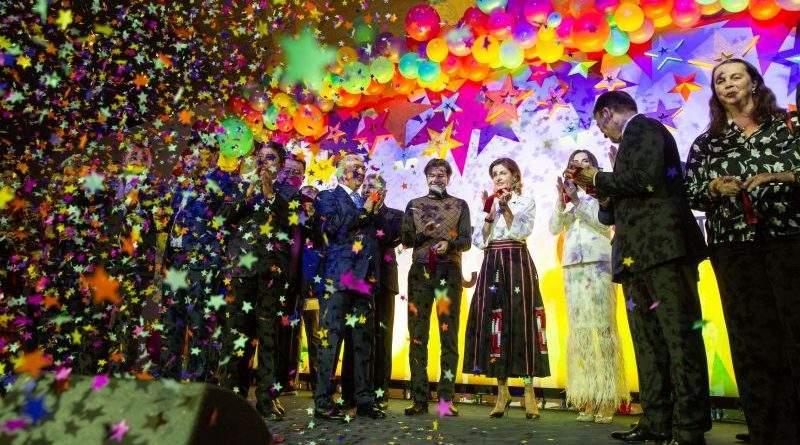Марина Порошенко стала почесною гостею фестивалю культур народів світу Outlook World Culture Festival (фото)