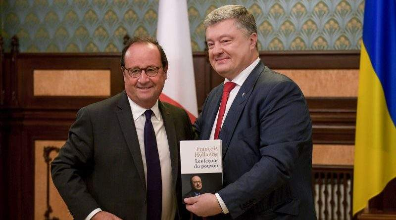 Петро Порошенко зустрівся з Франсуа Олландом (фото, відео)