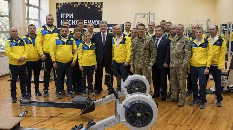 Президент побажав нашій команді ветеранів успіхів на «Іграх нескорених» в Сіднеї (фото, відео)
