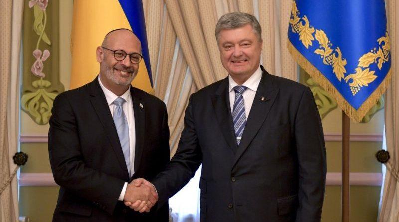 Президент України прийняв вірчі грамоти у послів Ізраїля, Катару, Бельгії, Ісландії в Україні
