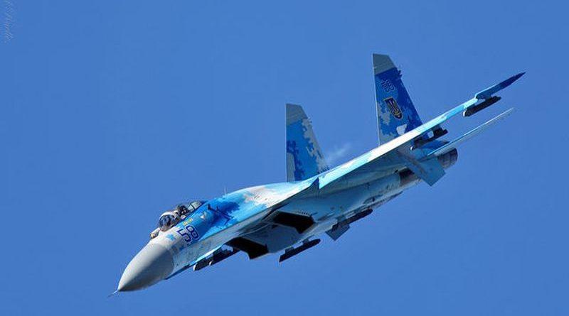 На Вінничині впав літак Су-27 (оновлюється)