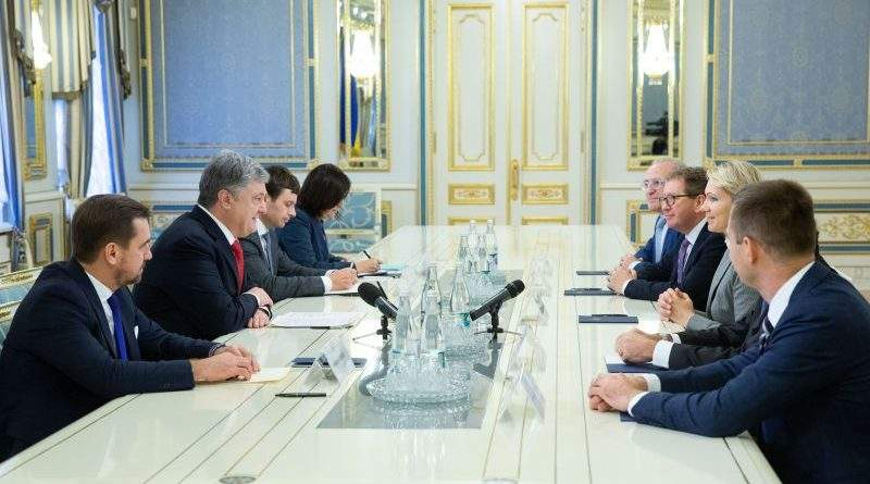 Президент зустрівся з делегацією компанії Louis Dreyfus Company