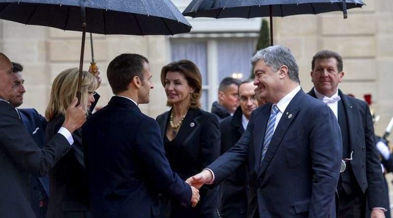 Президент України взяв участь у церемонії, присвяченій 100-й річниці завершення Першої світової війни (фото)