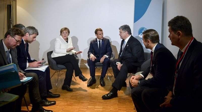 Президенти України і Франції та Канцлер Німеччини засудили фейкові вибори на окупованому Донбасі