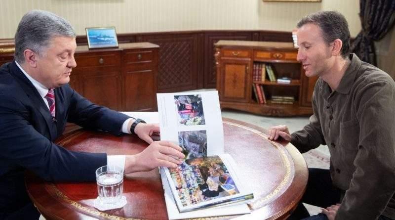 Петро Порошенко дав інтерв'ю британському телеканалу Sky News (фото, відео)