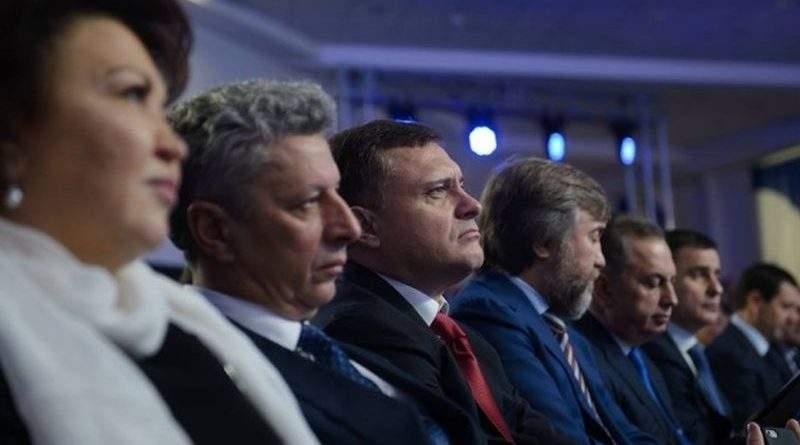 Оппо раскололся на Медведчуковских и Ахметовских официально