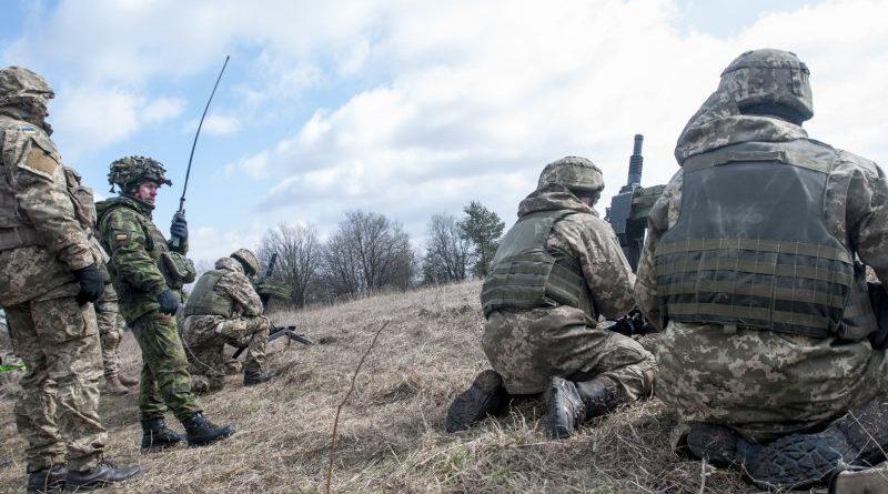 JMTG-U: Підрозділ морської піхоти під керівництвом іноземних інструкторів проходить навчання (відео)