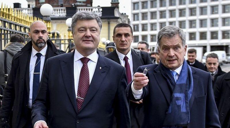 7-8 листопада Президент України здійснить робочий візит до Фінляндії