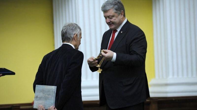 Президент привітав лідера кримськотатарського народу Мустафу Джемілєва з ювілеєм (фото)