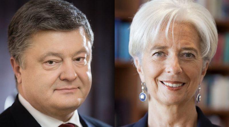 Президент України провів телефонну розмову з Директором-розпорядником МВФ