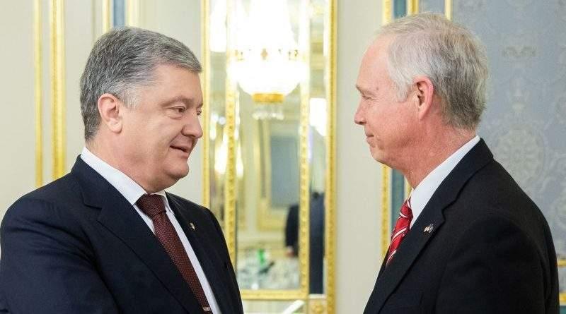 Президент України прийняв Сенатора США Рональда Джонсона (фото)