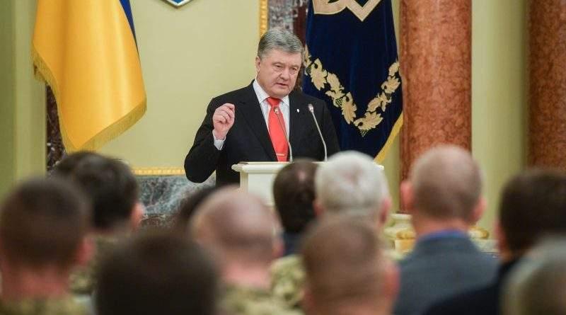 Петро Порошенко привітав українських військовослужбовців з Днем Збройних Сил України (фото, відео)