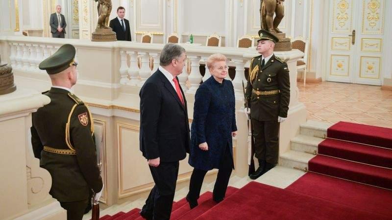 Зустріч Президента України з Президентом Литовської Республіки (фото, відео)