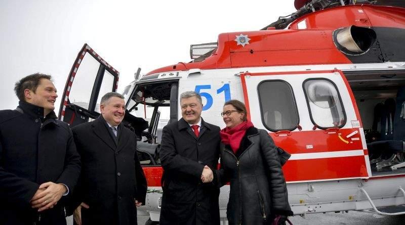 Президент України взяв участь у церемонії передачі вертольотів Airbus Нацгвардії та ДСНС (фото, відео)