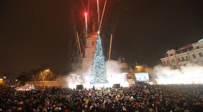 Вчора Марина Порошенко разом з мером столиці відкрили головну ялинку країни (фото)