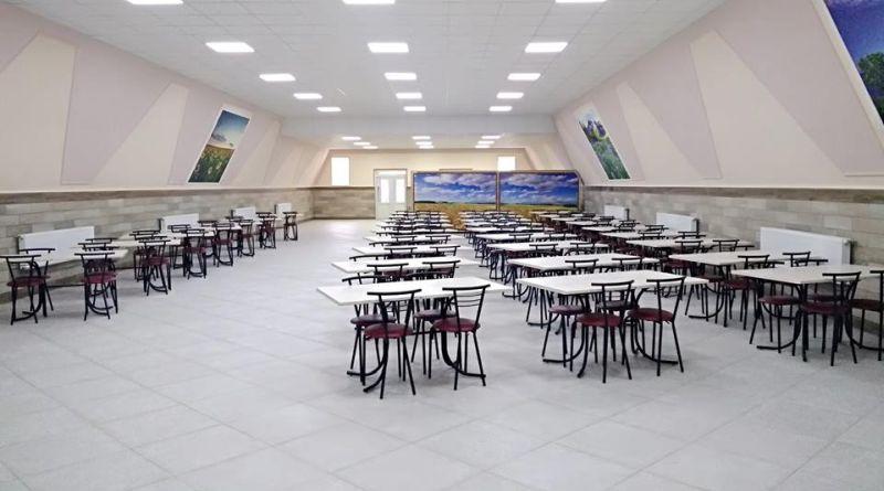 Військовослужбовці Держспецтранспорту МО харчуватимуться за новою системою в оновленій їдальні (фото)