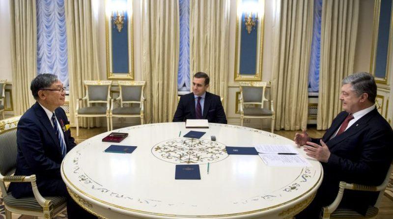Президент прийняв Посла Японії з нагоди завершення його дипломатичної місії в Україні (фото)