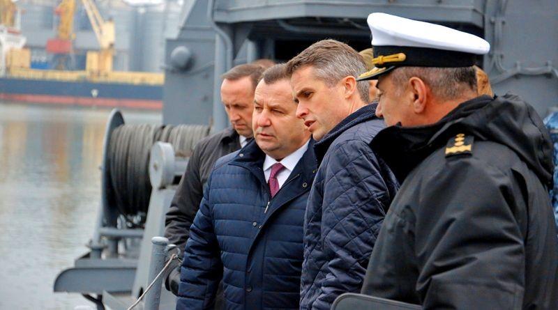 В Україну з робочим візитом прибув Держсекретар з питань оборони Великобританії Гевін Вільямсон (фото, відео)