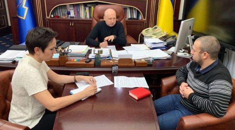 Олександр Турчинов дав інтерв'ю «BBC News Україна»