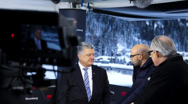Росія втручається у вибори в Україні – Президент в інтерв'ю Bloomberg