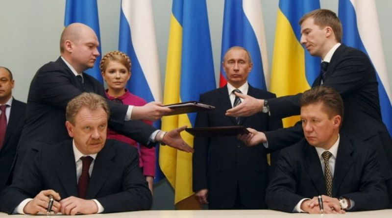 Десятая годовщина газовых контрактов Тимошенко