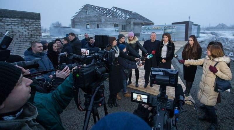 Робочий візит Марини Порошенко до Дніпропетровської області (фото)