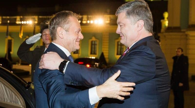 Зустріч Президента України з Президентом Європейської Ради (фото, відео)