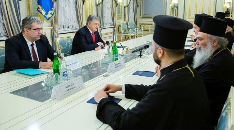 Президент прийняв делегацію Вселенського патріархату (фото)