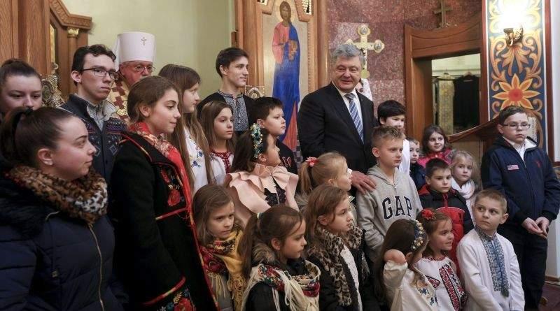 Петро Порошенко взяв участь у панахиді за загиблими Героями Небесної Сотні в місті Саус, Нью-Джерсі (фото, відео)